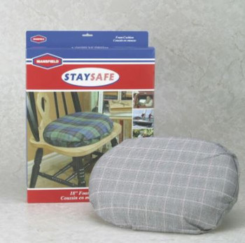 "Mansfield Stay Safe 18"" Foam Cushion with Cover"
