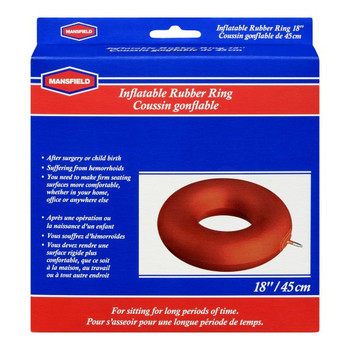 "Mansfield 18"" Inflatable Rubber Ring"
