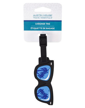 Austin House Luggage Tag   Sunglasses