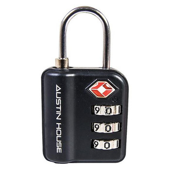 Austin House Travel Sentry 3 Dial Combination Padlock
