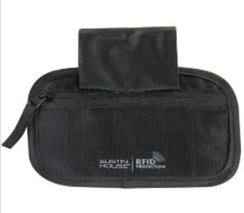 Austin House Hideaway Pouch With Belt Loop with RFID Protection