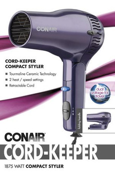 Conair Cord-Keeper Compact Styler Dryer - Folding Handle