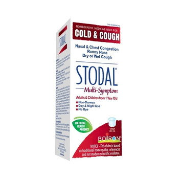 Stodal Multi-Symptom Cold & Cough Homeopathic Syrup   200 ml