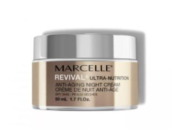 Marcelle Revival+ Ultra-Nutrition Intensive Hydration Care Anti-Aging Night Cream Dry Skin | 50 mL