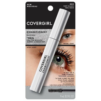 Covergirl Exhibitionist Mascara - Very Black | 9 mL