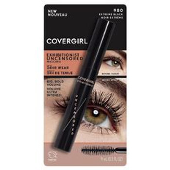 Covergirl Exhibitionist Uncensored Mascara - Extreme Black | 9 mL