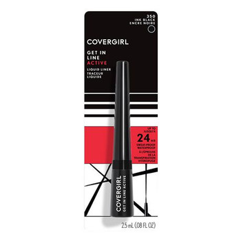 Covergirl Get In Line Active Liquid Liner - Ink Black | 2.5 mL