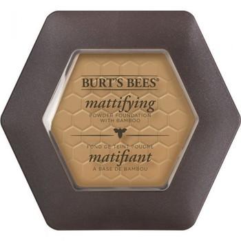 Z-DISC-Burt's Bees Mattifying Powder Foundation - Almond - 1125 | 8.5g