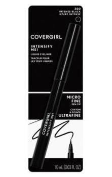 Covergirl Intensify Me! Liquid Eyeliner - Intense Black | 1 mL