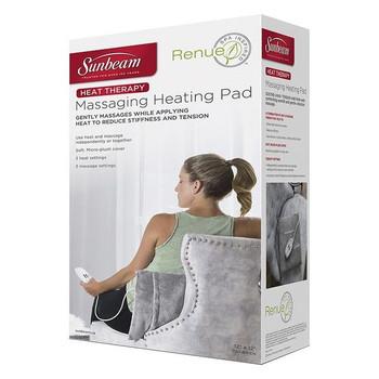 Sunbeam Renue Heat Therapy Massaging Heating Pad