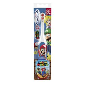 Spinbrush Kids Powered Toothbrush - Super Mario | Soft