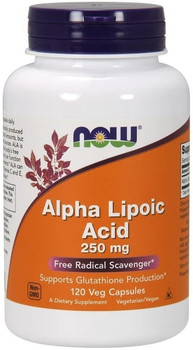 NOW Alpha Lipoic Acid 250mg | 120 Caps