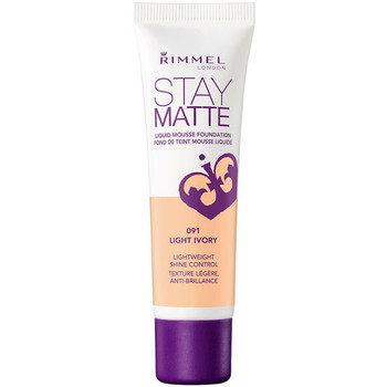 Rimmel Stay Matte Liquid Mousse Foundation - Light Ivory 091   30ml