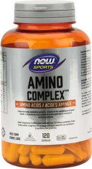 NOW Amino Complex | 120 Caps