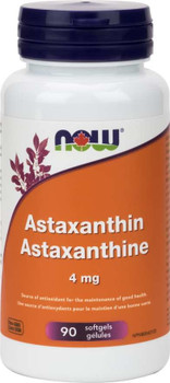 NOW Astaxanthin 4mg | 90 Softgels