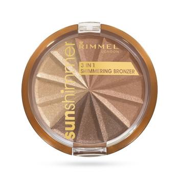 Rimmel Sun Shimmer 3 in 1 - Bronze Goddess 002 | 9.9g