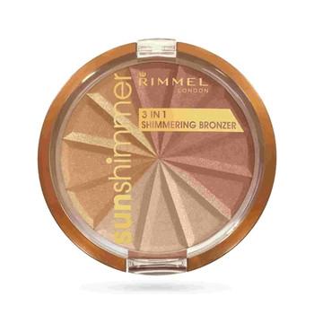 Rimmel Sun Shimmer 3 in 1 - Gold Princess 001 | 9.9g