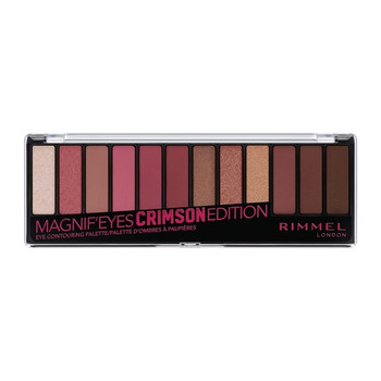 Rimmel Magnif'eyes Shadow Palette - Crimson Edition 007 | 14.16g