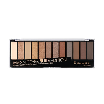 Rimmel Magnif'eyes Shadow Palette - Nude Edition 001 | 14.16g
