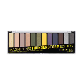 Rimmel Magnif'eyes Shadow Palette - Thunderstorm Edition 010 | 14.16g