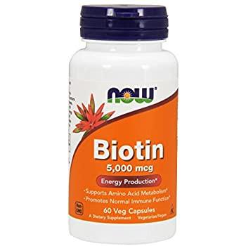 NOW Biotin 5000mg | 60 Caps