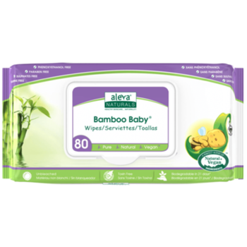 Bamboo Baby Wipes | 80 Wipes