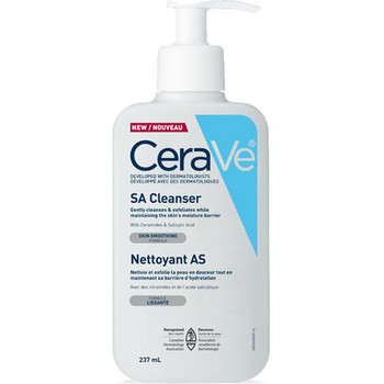 CeraVe Salicylic Acid Cleanser - Skin Smoothing Formula | 237 mL