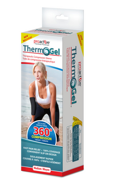 Proactive Physiotherapy Therm-O-Gel Therapeutic Compression Sleeve | MEDIUM