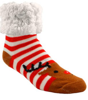 Piika Slipper Socks - Ruddolf Red