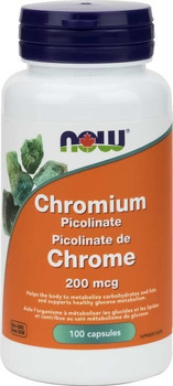 NOW Chromium Picolinate 200mg | 100 Caps