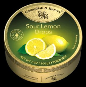 Cavendish & Harvey Sour Lemon Candies | 200 g