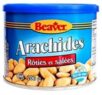 Beaver Roasted Salted Peanuts | 200 g