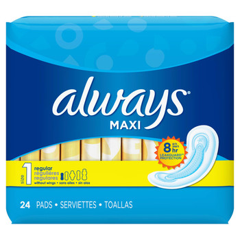 Always Maxi - Regular Without Wings | 24 Pads