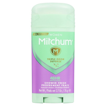 Mitchum Women Triple Odor Defense - Shower Fresh 48HR | 76g