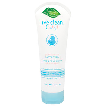 Live Clean Baby Lotion With Lavender, Aloe And Chamomile | 227ml