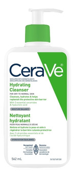 CeraVe Hydrating Cleanser - For Dry To Normal Skin   562ml
