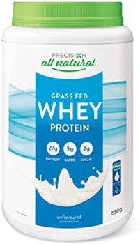 Precision All Natural Grass Fed Whey Protein - Unflavoured   375 g