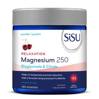 Sisu Relaxation Magnesium 250 - Tart Cherry   133 g