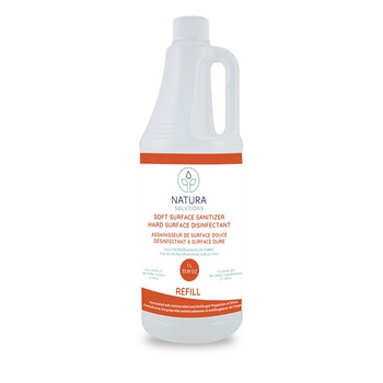 Natura Solutions Soft Surface Sanitizer Refill | 1L