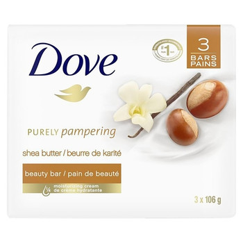 Dove Purely Pampering Shea Butter Beauty Bar | 3 x 106 g