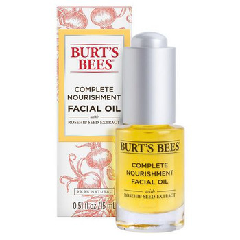 Burt's Bees Complete Nourishment Facial Oil with Rosehip Seed Extract | 15 ml