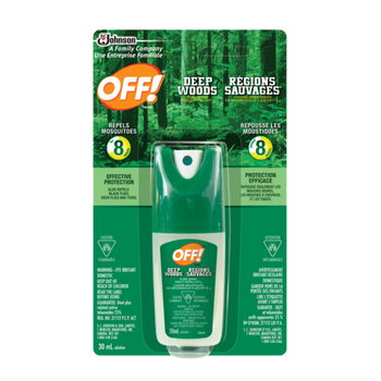 Off Deep Woods Pump Spray Insect Repellent | 30 ml