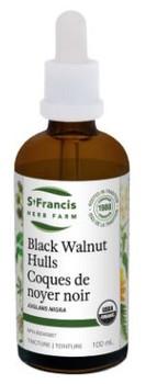 StFrancis Herb Farm Tincture - Black Walnut Hulls   50 mL