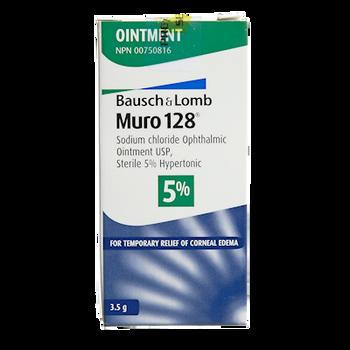 Bausch + Lomb Muro128 Ointment 5% | 3.5g