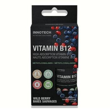 Innotech Vitamin B12 Oral Spray - Wild Berry | 30 mL
