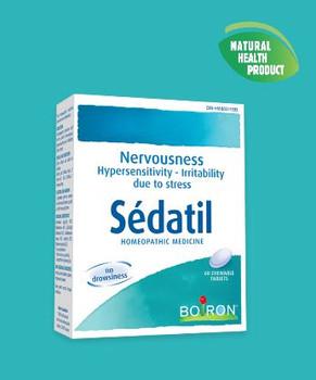 Boiron Sédatil Homeopathic Medicine for Nervousness | 60 Chewable Tablets