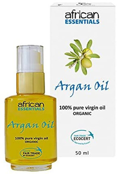 African Essentials Argan Oil for Hydration & Vitality | 50 ml