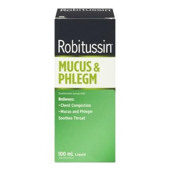 Robitussin Mucus & Phlegm Relief Liquid | 100 ml
