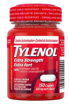 Tylenol Extra Strength Pain Relief Caplets   150 Caplets