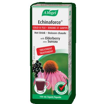 A. Vogel Echinaforce Cold & Flu Treatment Liquid with Elderberry | 100 ml